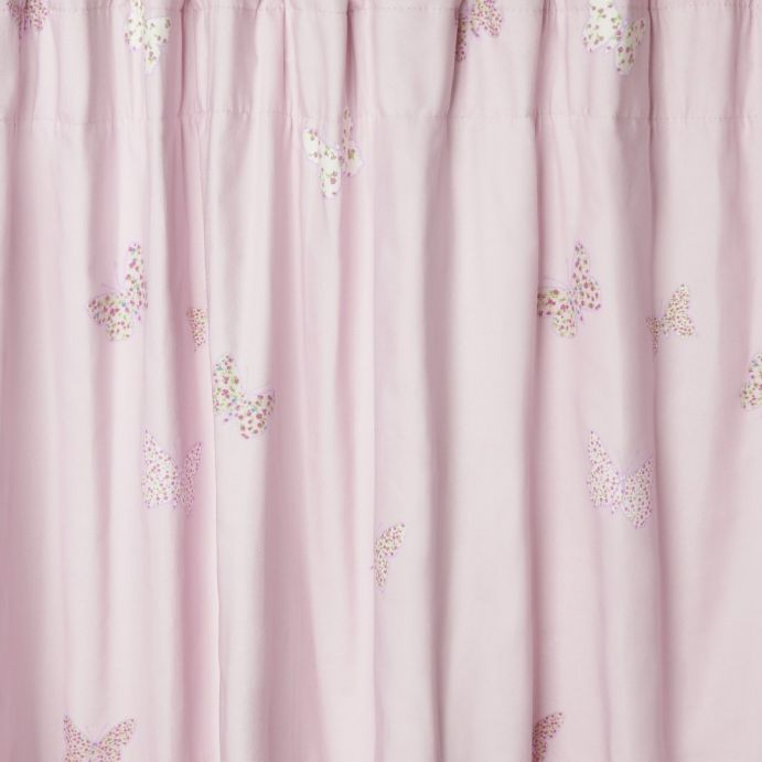 cortinas Bella Butterfly rosa