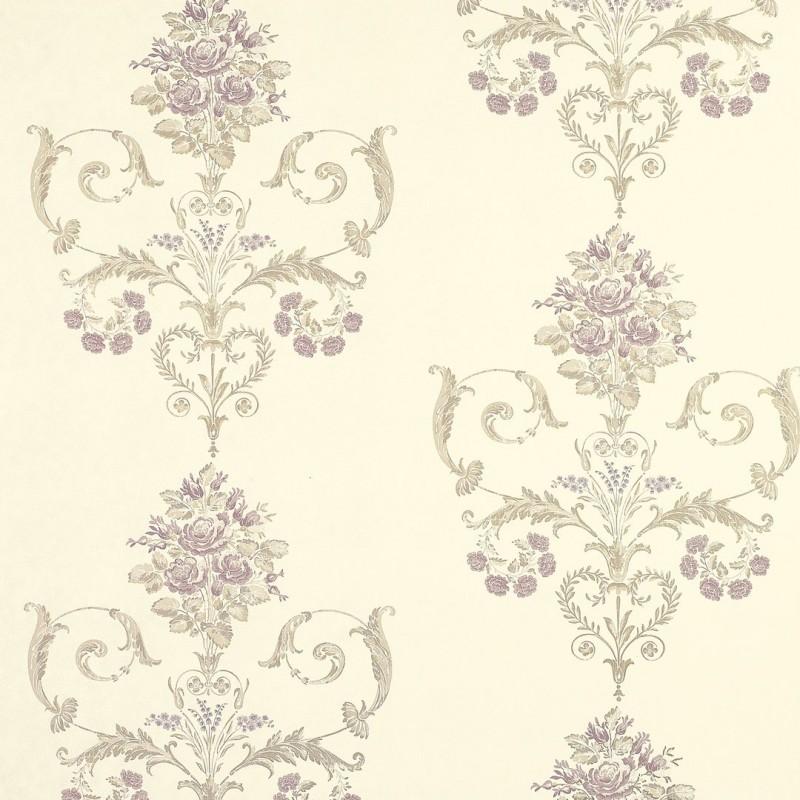 Comprar papel pintado henrietta lavanda de dise o laura - Laura ashley papel pintado ...