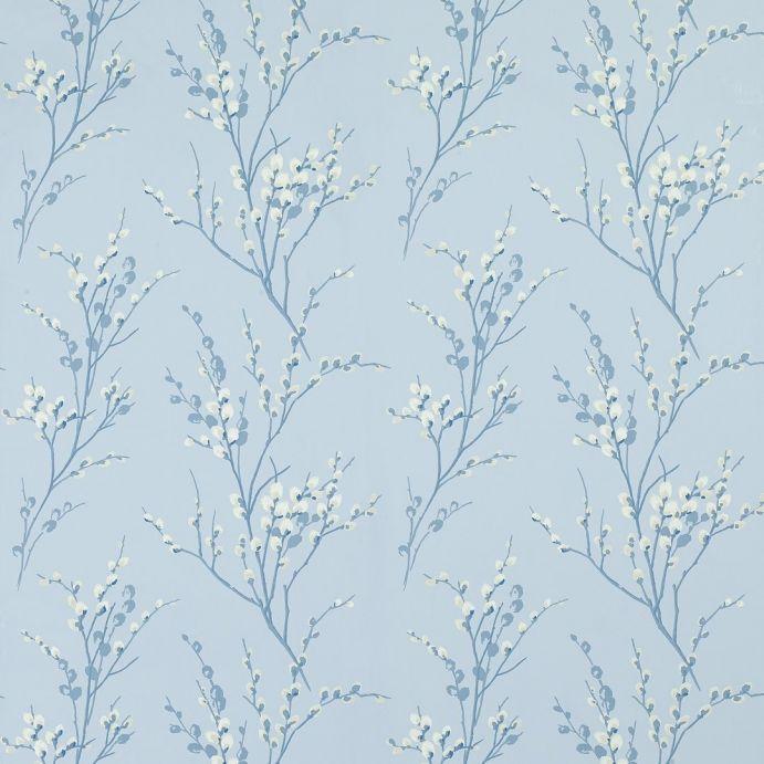 tejido pussy willow azul mar