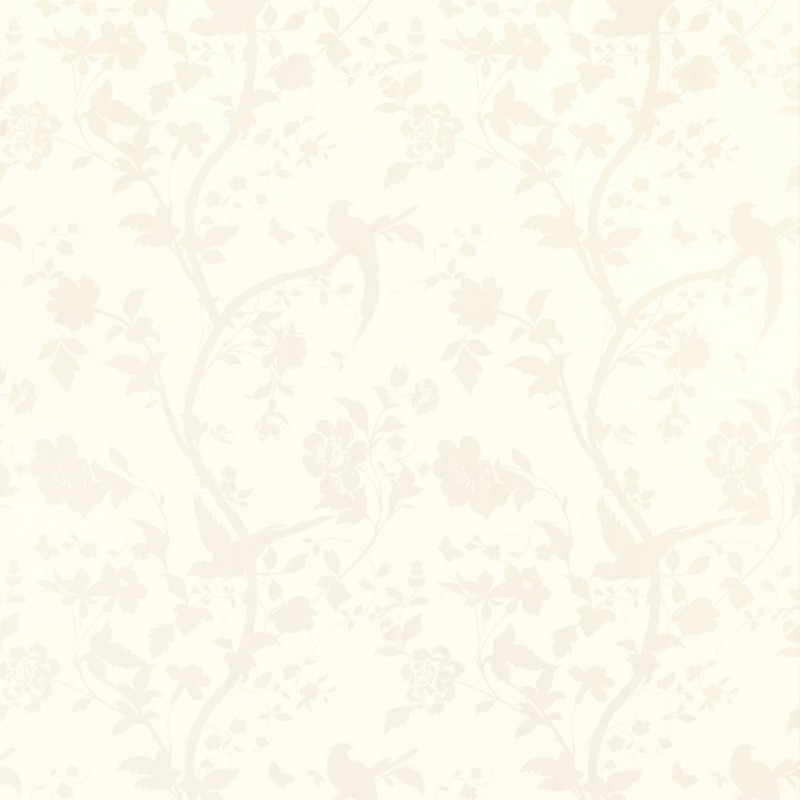 Comprar papel pintado oriental garden blanco de dise o for Papel pintado oriental
