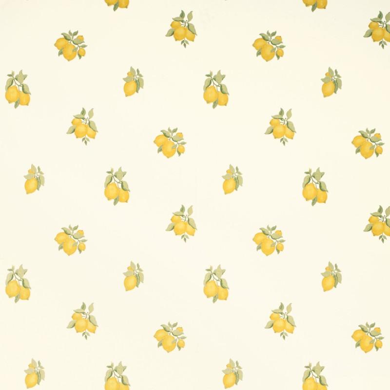 Comprar papel pintado lemon grove amarillo primavera de - Papel decorativo infantil ...