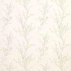 papel pintado pussy willow hueso y gris claro