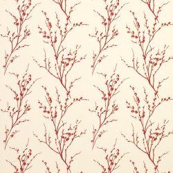 papel pintado pussy willow arándano
