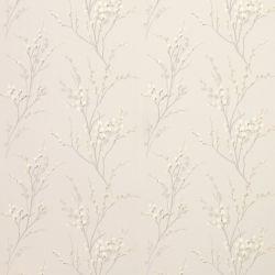 tejido estampado pussy willow gris claro