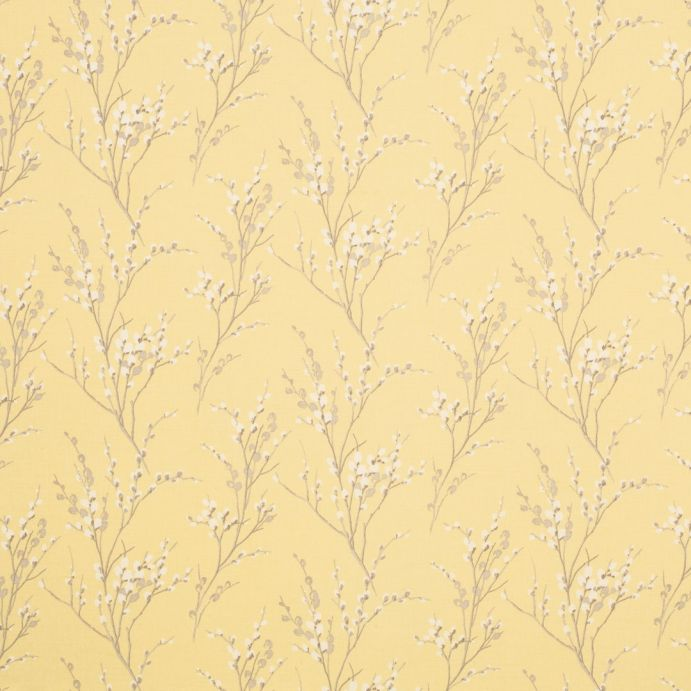 tejido estampado pussy willow camomila