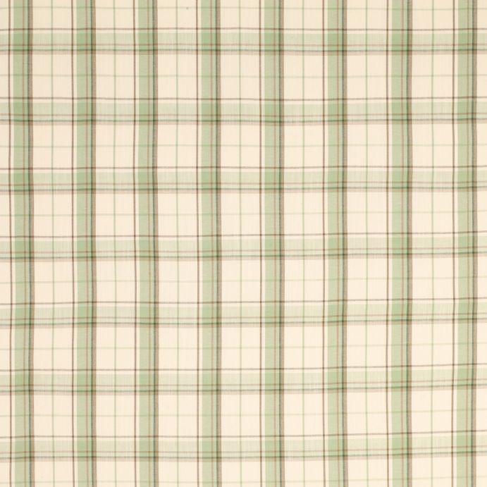 tela Highland Check verde seto