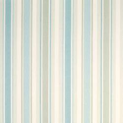 tela Awning Stripe pistacho y azul verdoso