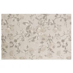 Alfombra Grace gris plata 120x180