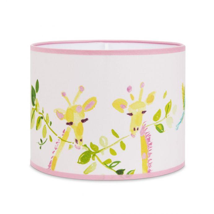 pantalla Giraffes rosa
