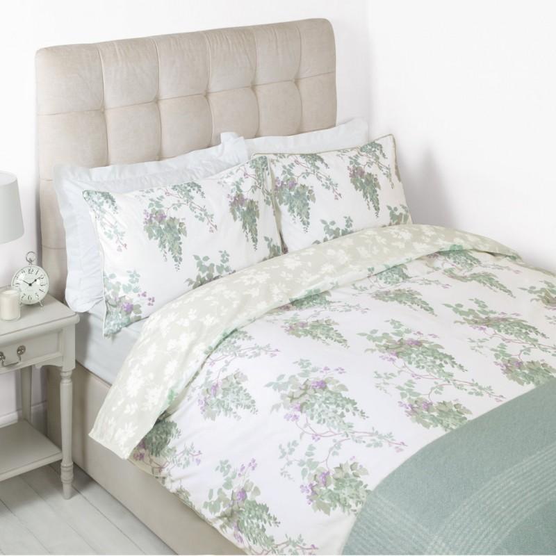 b832e550f3c Comprar ropa de cama Wisteria azul verdoso de diseño - Laura Ashley ...