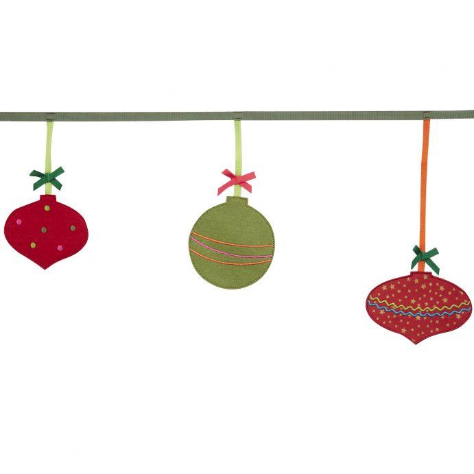 guirnalda bolas de navidad - Guirnaldas De Navidad