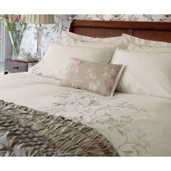 ropa de cama Calissa crema