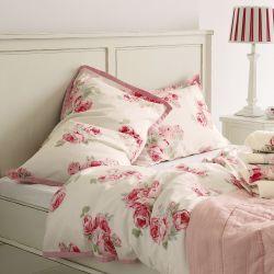 ropa de cama couture rosa