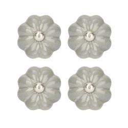4 tiradores para cajón Elsie gris