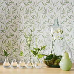 papel pintado willow leaf verde seto