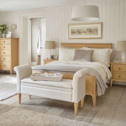 cama Keats roble