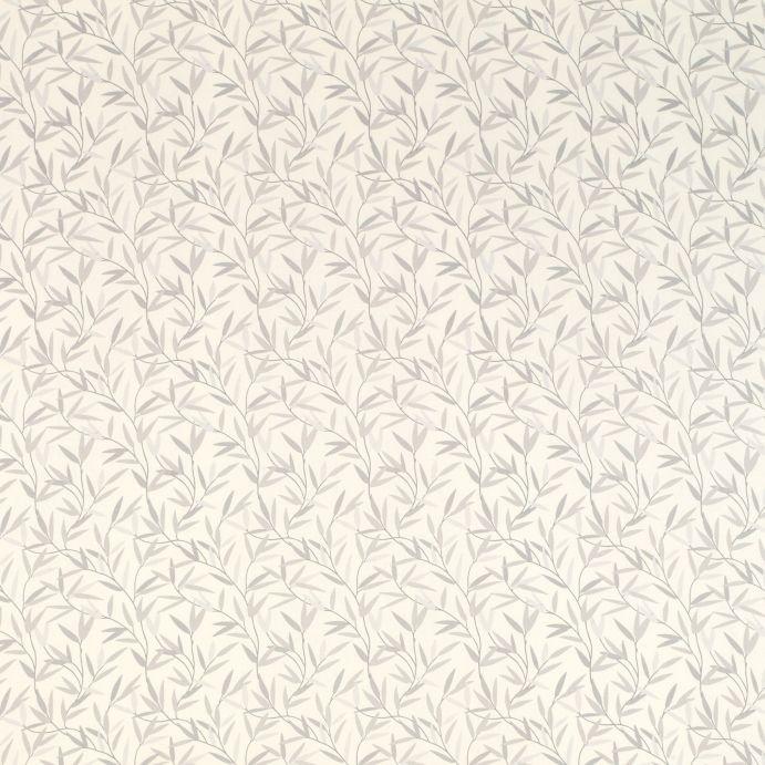 papel pintado Willow Leaf acero