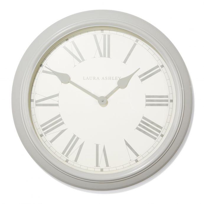 Gran reloj de pared Gallery gris (62cm)