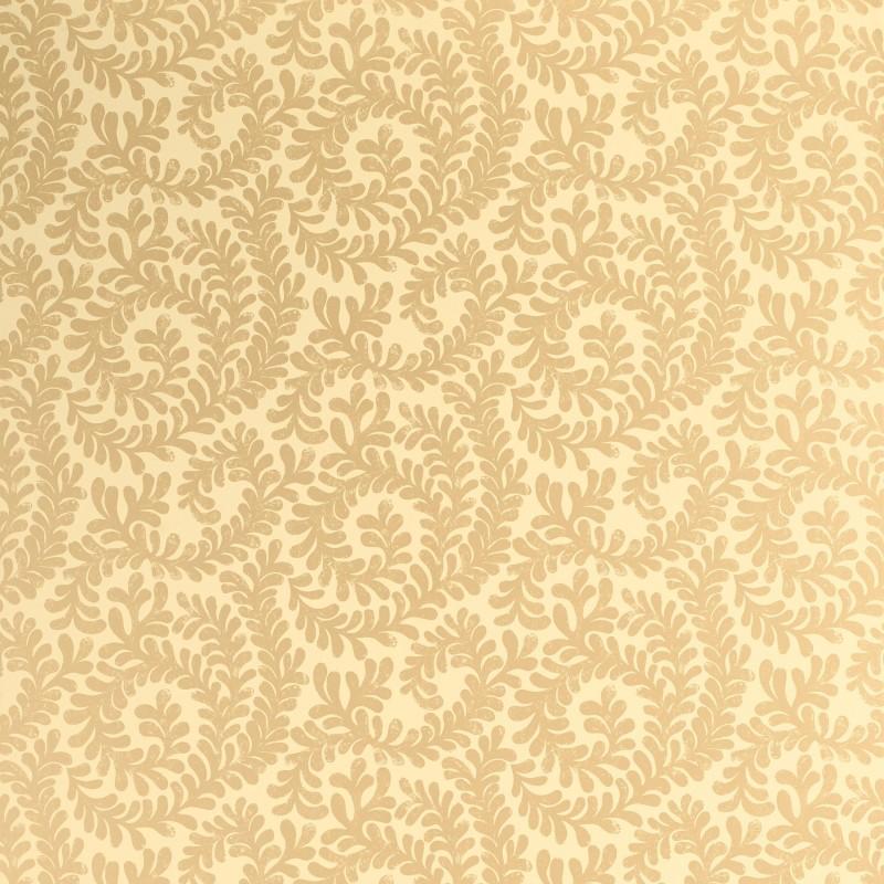 Comprar papel pintado berkeley scroll dorado de dise o for Papel pintado marron y dorado