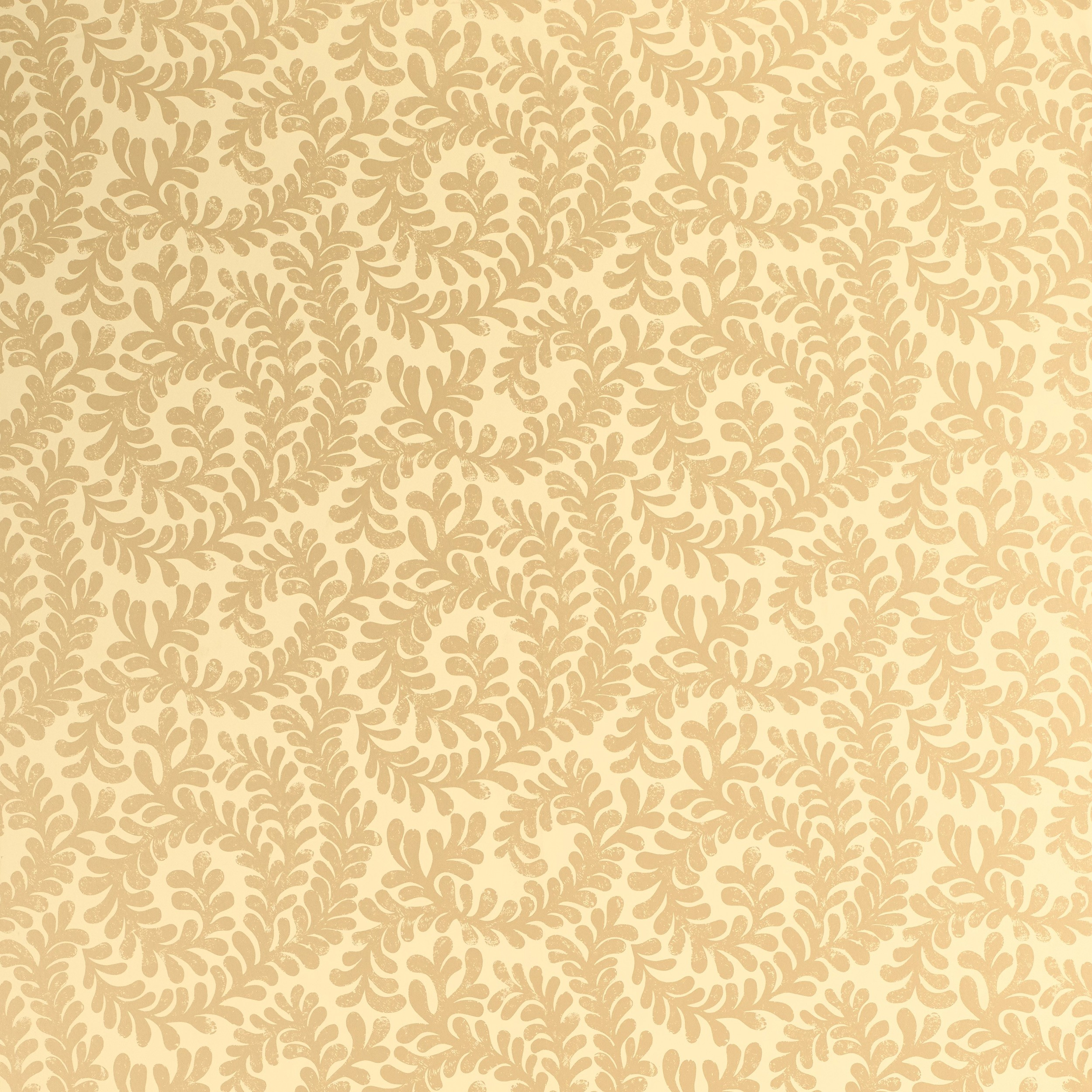Comprar papel pintado Berkeley Scroll dorado de diseño - Laura ...