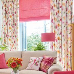 tejido Dahlia Parade rosa pomelo