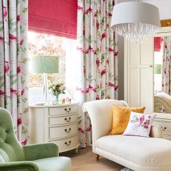 tejido Harewood rosa pomelo