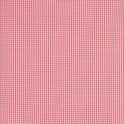 tejido Gingham rosa pomelo