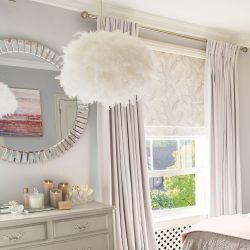 lámpara colgante Feather Cloud natural