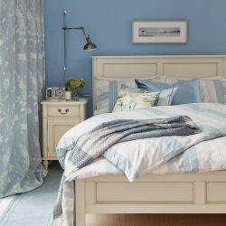 ropa de cama Sophie azul mar