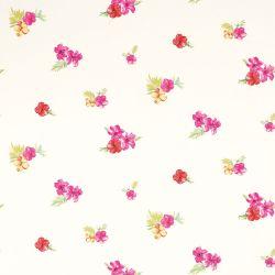 papel pintado Tropical Flower cereza