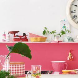 bandeja para horno rosa