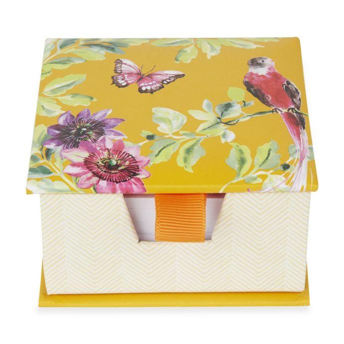 Block de notas Floral Heritage