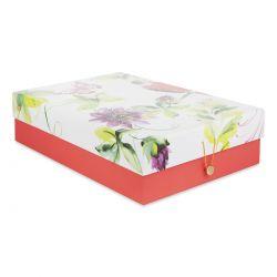 caja de escritorio Floral Heritage