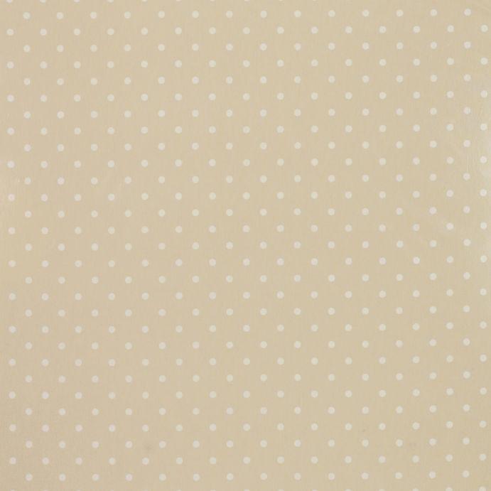 Tejido plastificado Polka Dot lino
