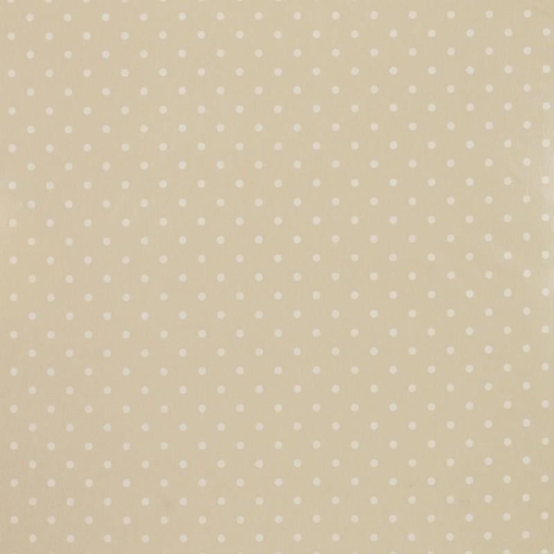 Comprar tejido plastificado polka dot lino de dise o for Papel pintado plastificado