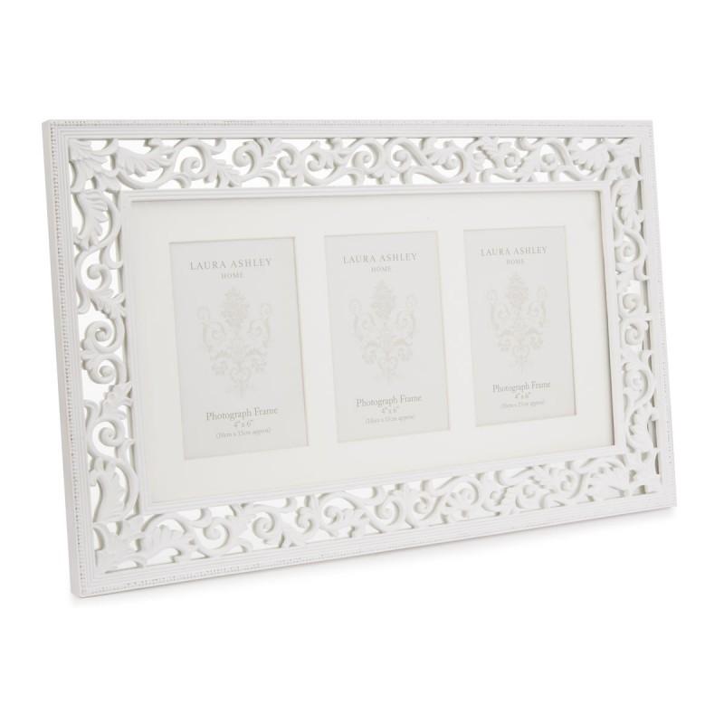 Comprar marco de fotos multi Rococo blanco de diseño - Laura Ashley ...