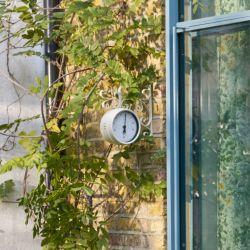 reloj termómetro de pared para exterior