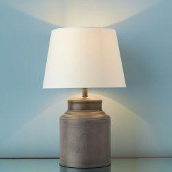 base de lámpara Dixon peltre