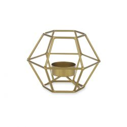 portavelas Elodie hexagonal