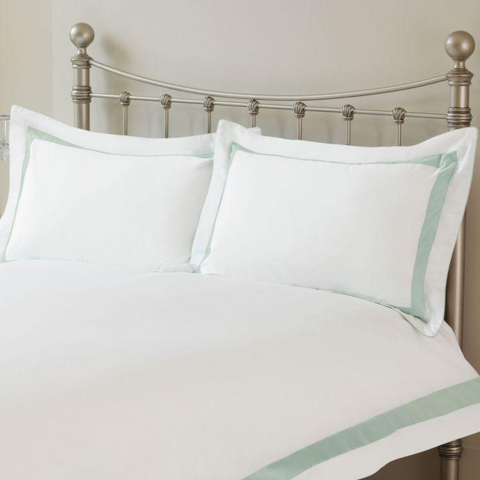 set de cama Darrow azul verdoso