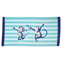 toalla de playa infantil cheeky monkey