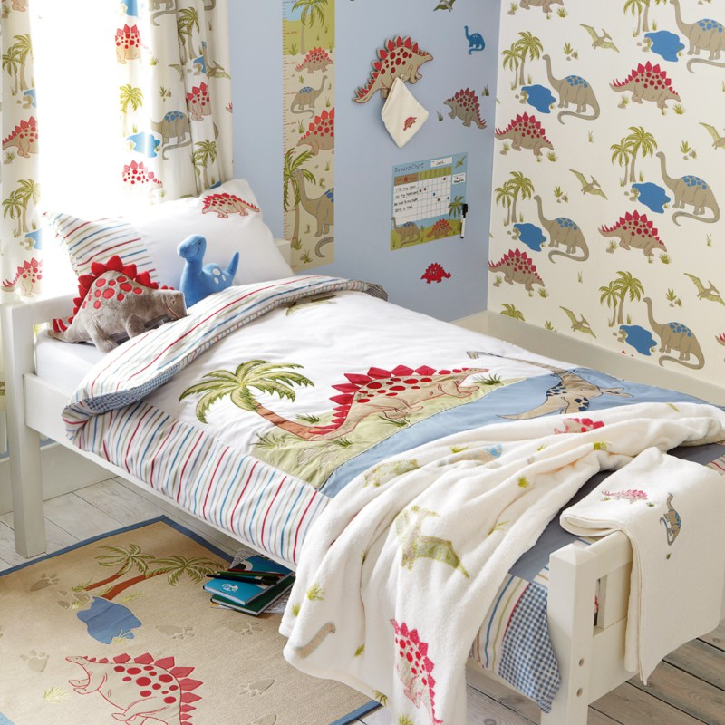 Comprar tejido dinosaurs multi de dise o laura ashley - Telas laura ashley ...