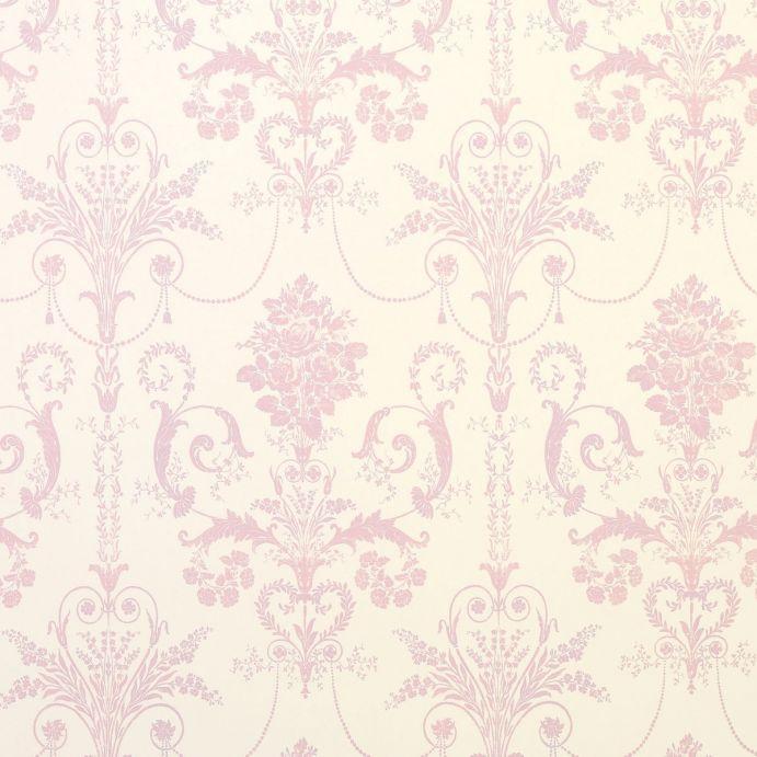 papel pintado Josette rosa encarnadao - Laura Ashley