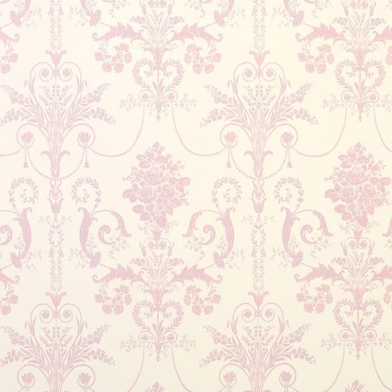 Comprar papel pintado josette rosa encarnado de dise o - Papel pintado laura ashley ...