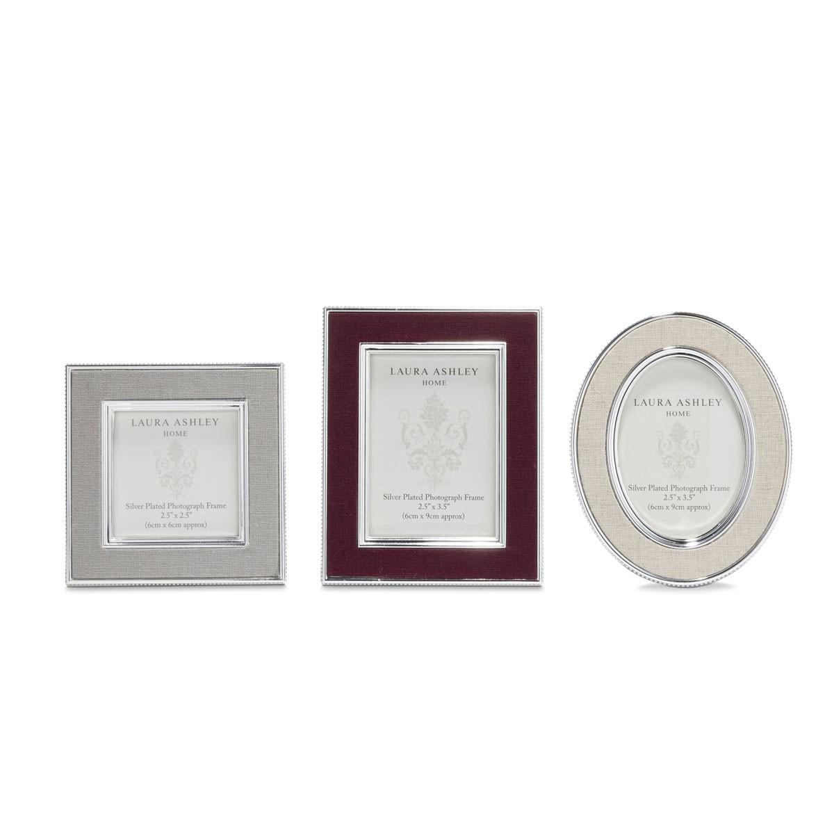 Comprar 3 mini marcos Harrison de diseño - Laura Ashley Decoracion