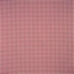 tejido gingham rojo