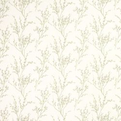 tela Pussy Willow verde seto, Laura Ashley