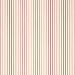 papel pintado de rayas rojo claro Farnworth, de Laura Ashley