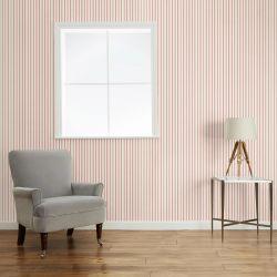 papel pintado Farnworth Stripe arándano pálido
