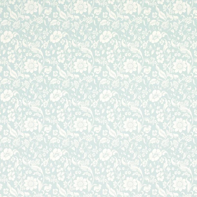 Comprar papel pintado lyla azul verdoso de dise o laura - Laura ashley papel pintado ...